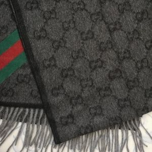 Authentic Gucci Angora Wool Scarf , new with tags